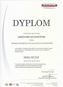 dyplom naprawa opon rolniczych